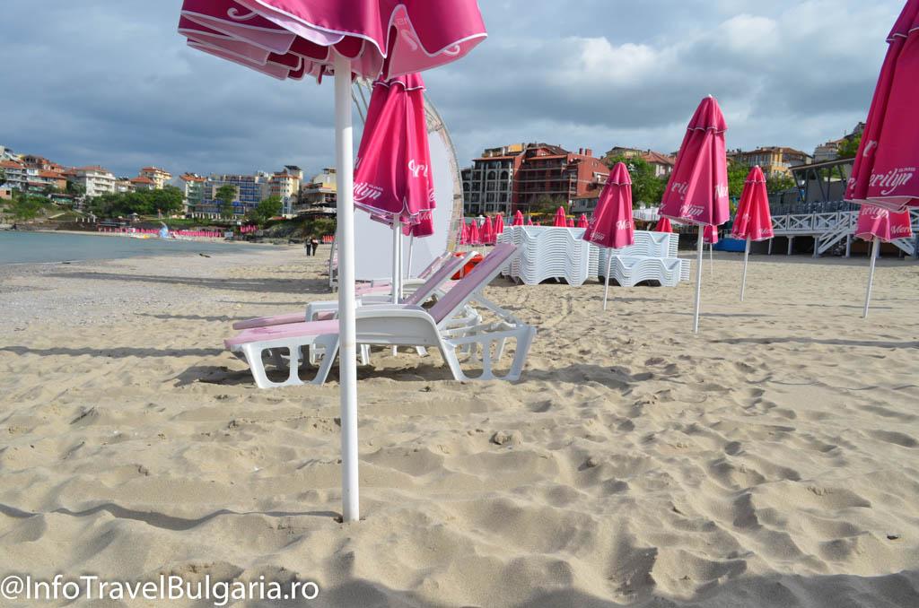 Plaja din Sozopol, Bulgaria