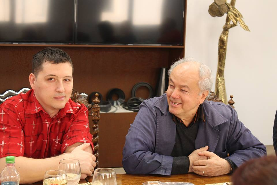 Petre Dordea - InfoTravelRomania.ro si Ioan Simion SanConfind