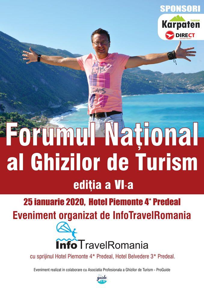 Forumul Ghizilor de Turism 2020