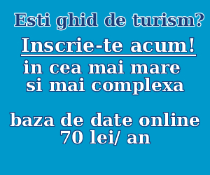 Esti ghid de turism? inscrie-te acum!