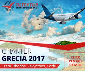 oferte Grecia 2017, charter avion Grecia