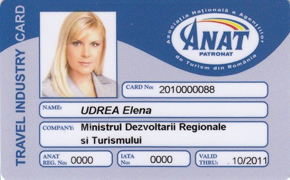 TRAVEL INDUSTRY CARD ANAT