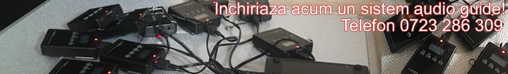 Inchiriaza sistem audio guide
