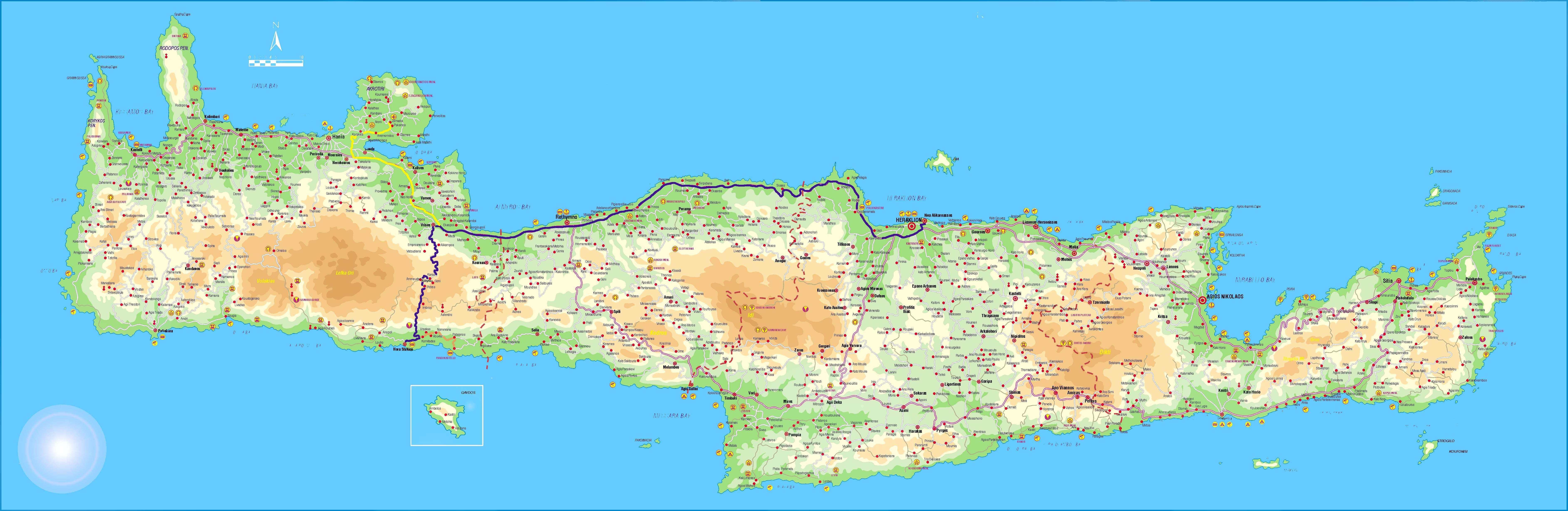 Harta Insula Creta Harta Insula Creta Harti Insula Creta Harti