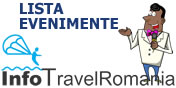 Lista evenimente turism Romania