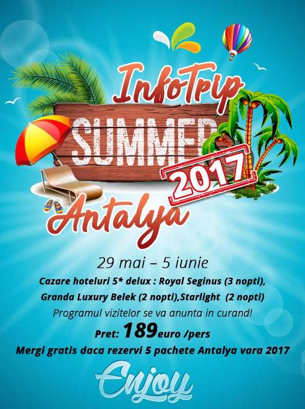 Infotrip Antalya 2017 by Holiday Office
