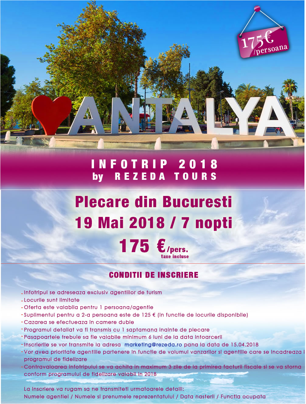 Infotrip Antalya 2018 by Rezeda Tours