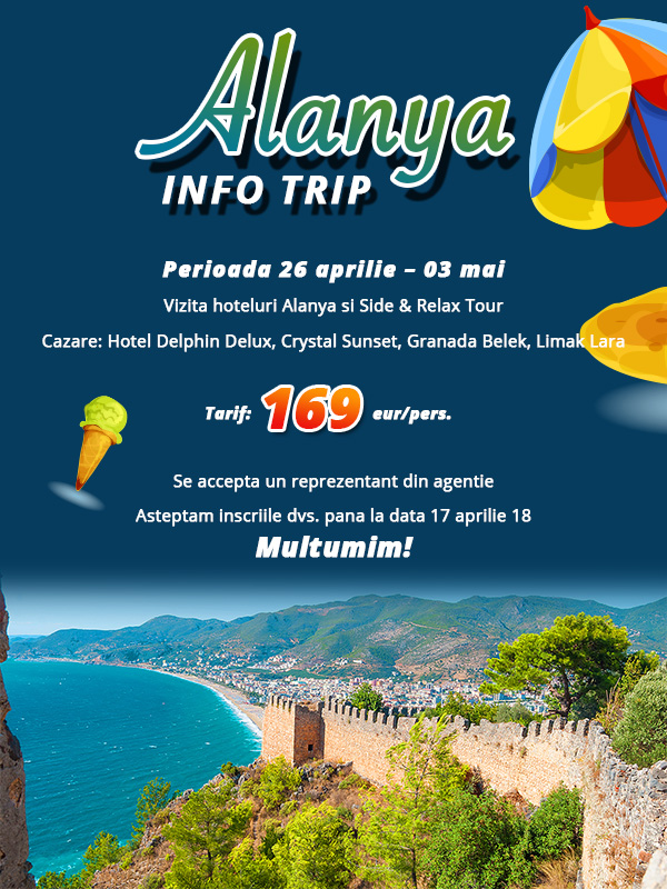 Infotrip Alanya 2018 by Holiday Office