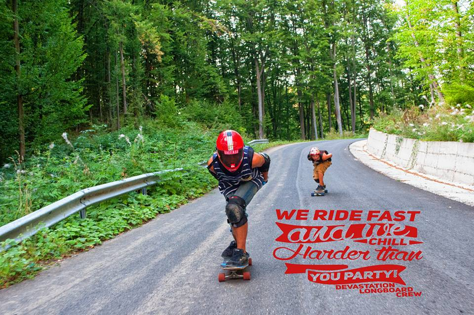 Concurs international longboard Transylvania Downhill 2016