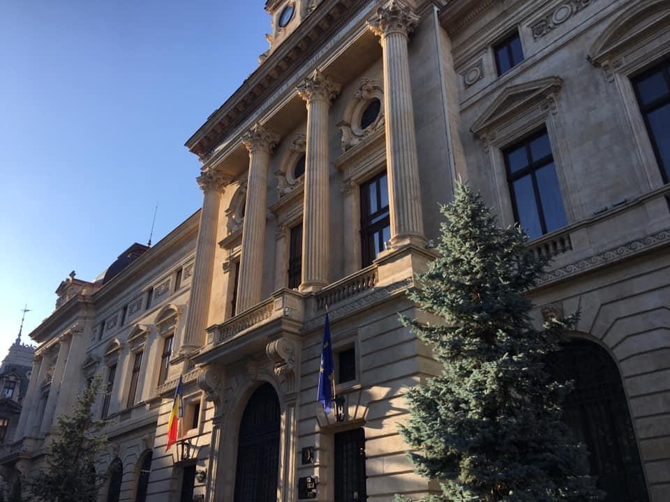 Imagine obiectiv Palatul Bancii Nationale