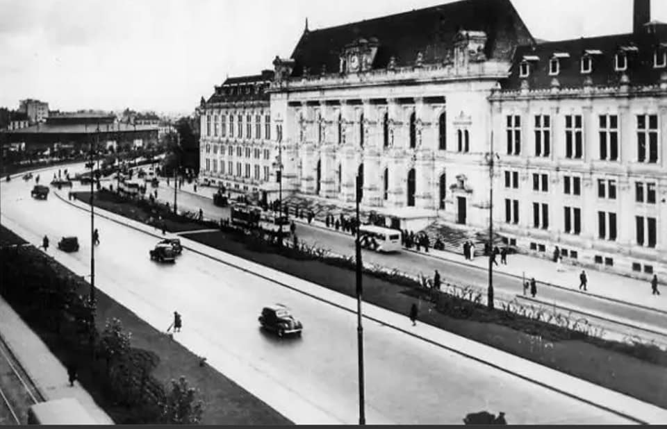 Imagine obiectiv Palatul De Justiție