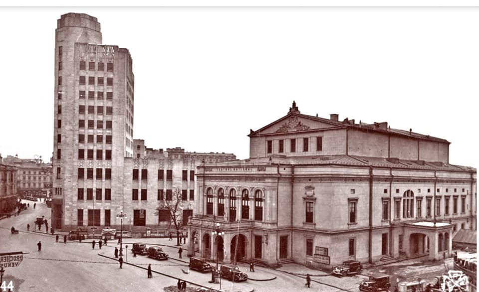 Imagine obiectiv Palatul Telefoanelor