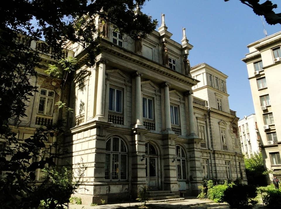 Imagine obiectiv Palatul Stirbei