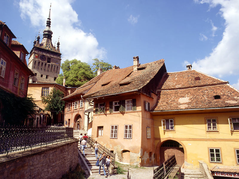 Imagine oras Sighisoara