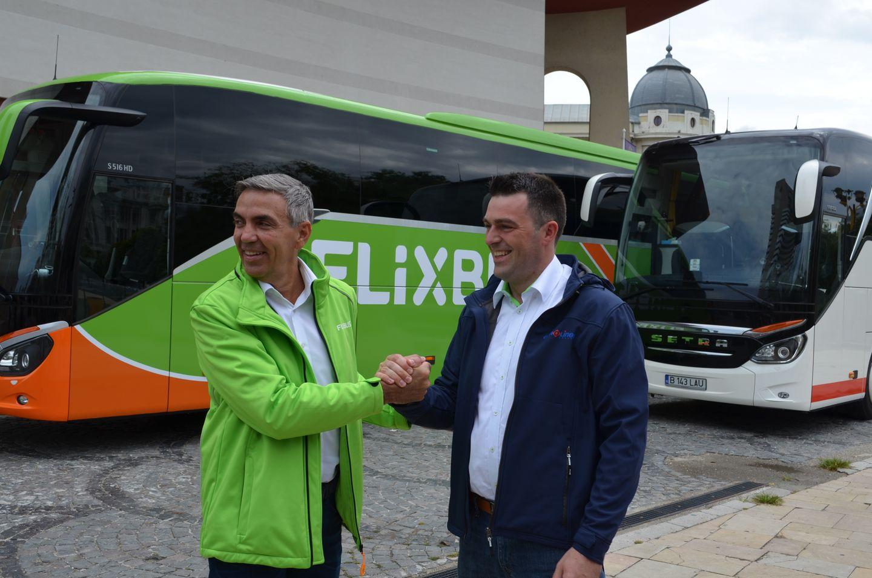 Eurolines Romania a batut palma cu FLIXBUS