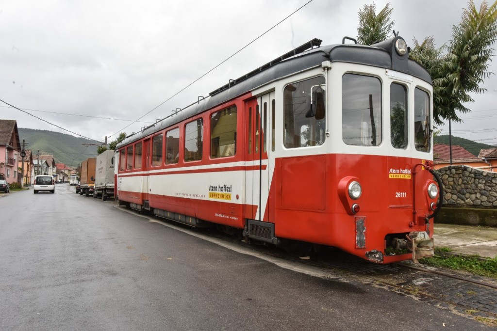 Primul tramvai turistic din Romania