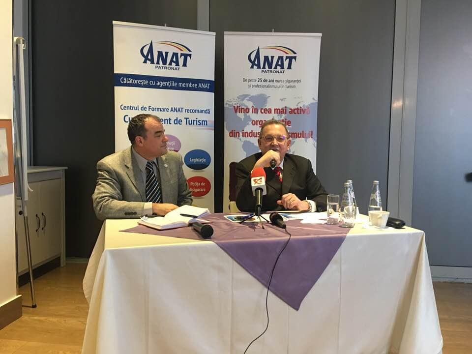 Conferinta de presa ANAT - Alin Burcea final de mandat