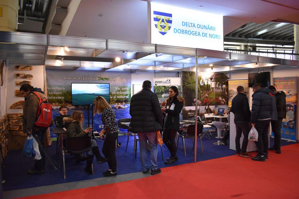 Delta Dunarii se promoveaza la Fishing Hunting Expo
