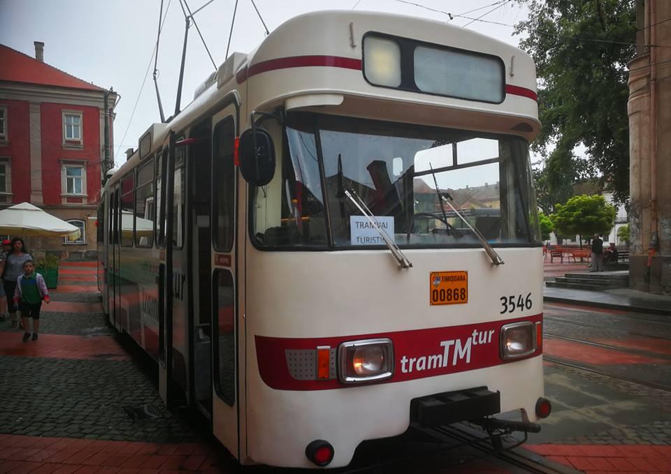 Timisoara a lansat Tramvaiul Turistic