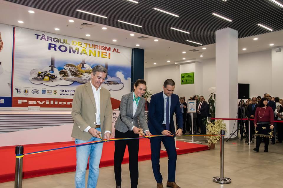 Bogdan Trif Ministrul Turismului a deschis oficial Targul de Turism din Romania