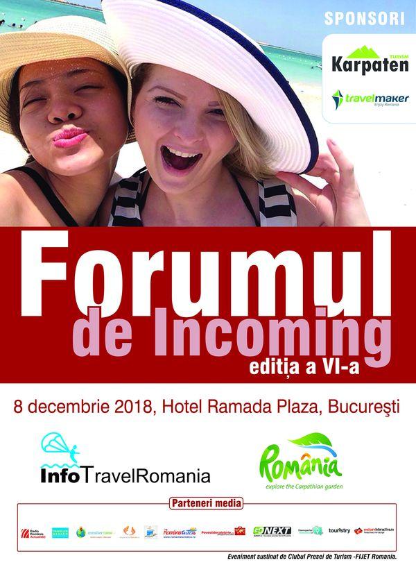 Invitatie Forumul de Incoming VI 8 decembrie 2018