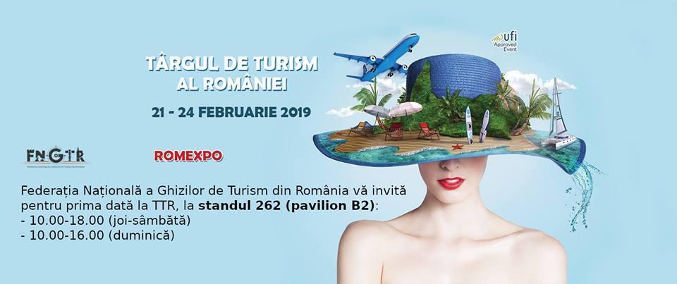 Noutati la Targul de Turism al Romaniei februarie 2019
