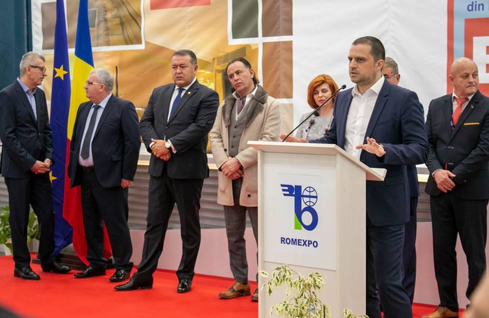 Ministrul turismului Bogdan Trif la deschiderea Targului de Turism al Romaniei