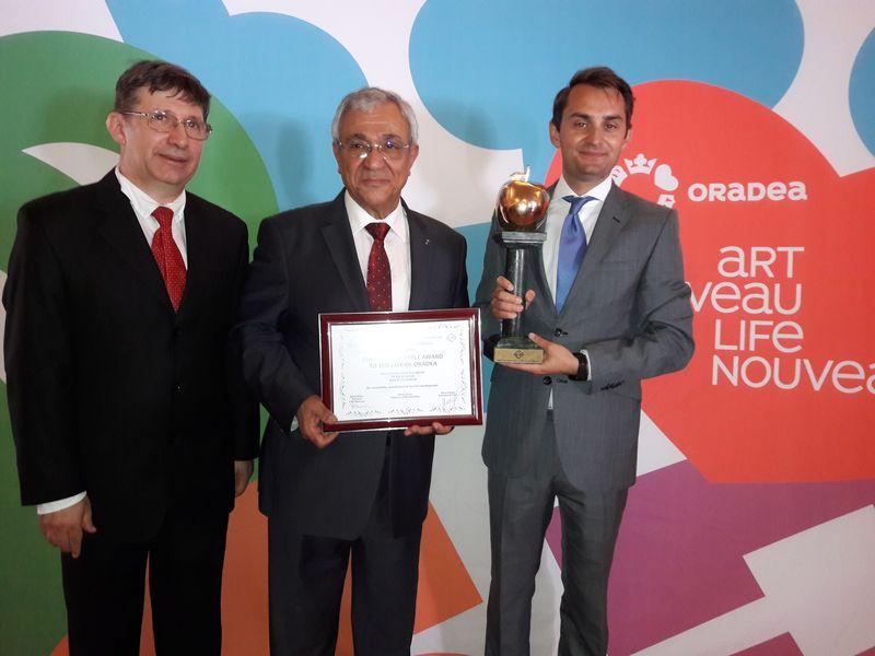 Orasul Oradea premiat cu trofeul Marul de Aur