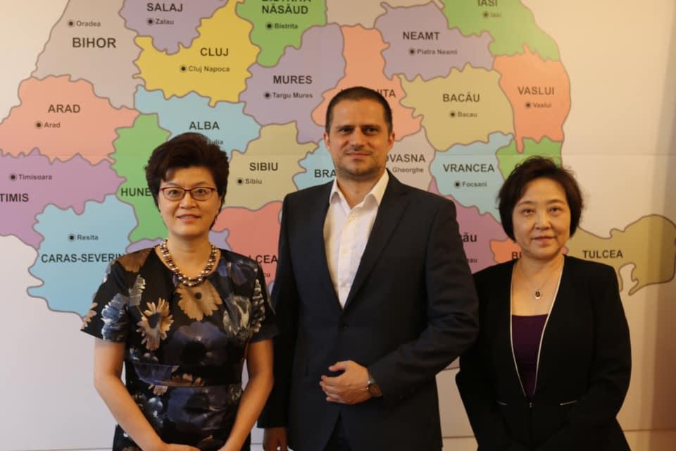 Intalnire intre Romania si China