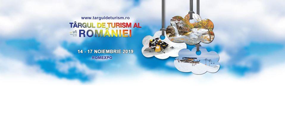 Va asteptam la Targul de Turism al Romaniei 14-17 noiembrie 2019