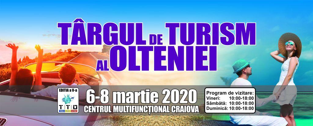 Va invitam la Targul de Turism al Olteniei 6-8 martie 2020