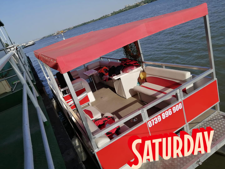 Din 17 aprilie 2021 se reiau plimbarile cu vaporasul pe Dunare in portul Giurgiu