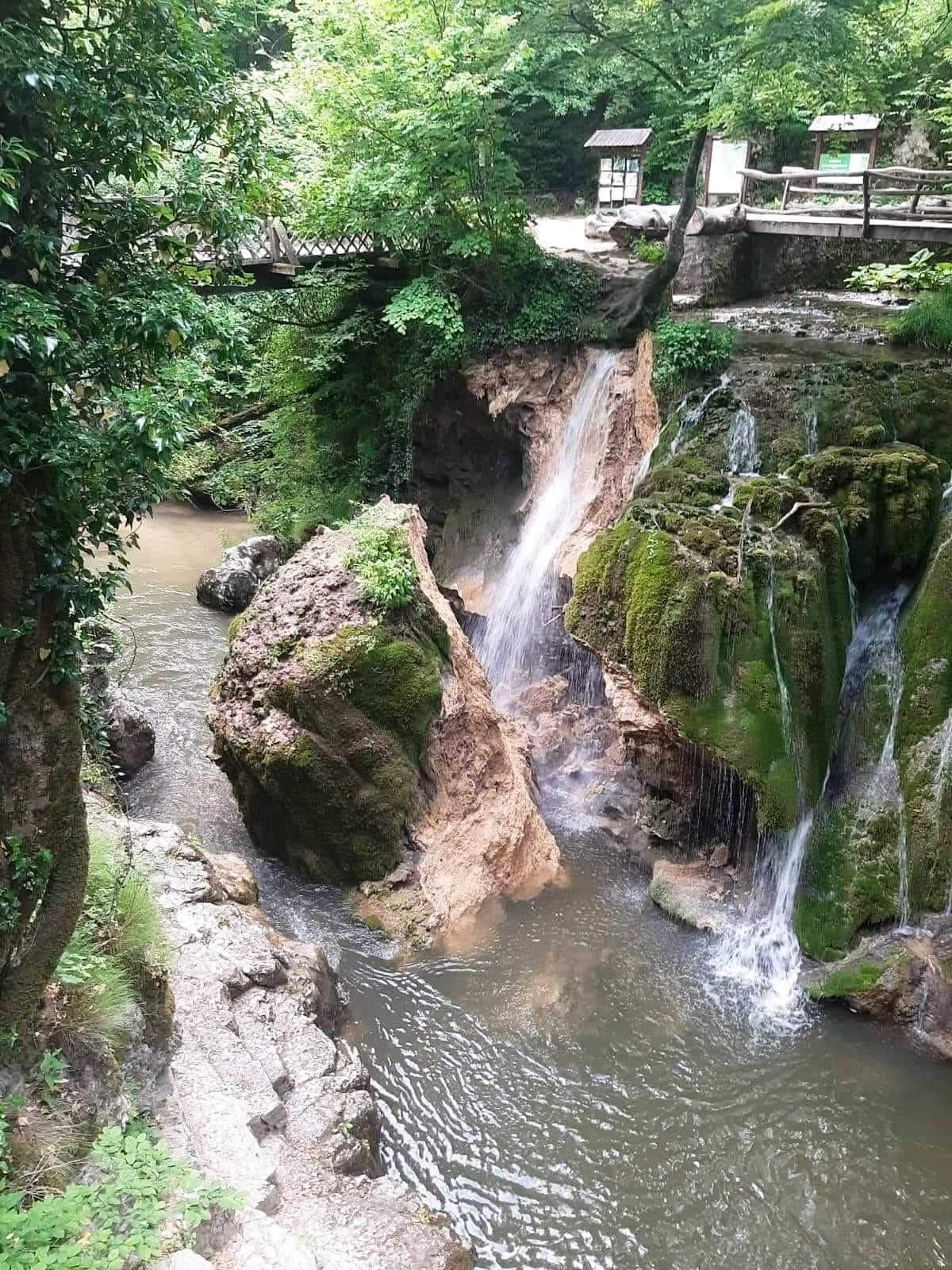 Cascada Bigar s-a prabusit astazi 07 iunie 2021