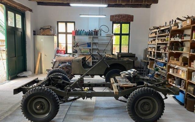 Atelierul auto al Regelui Mihai se deschide dupa 74 ani