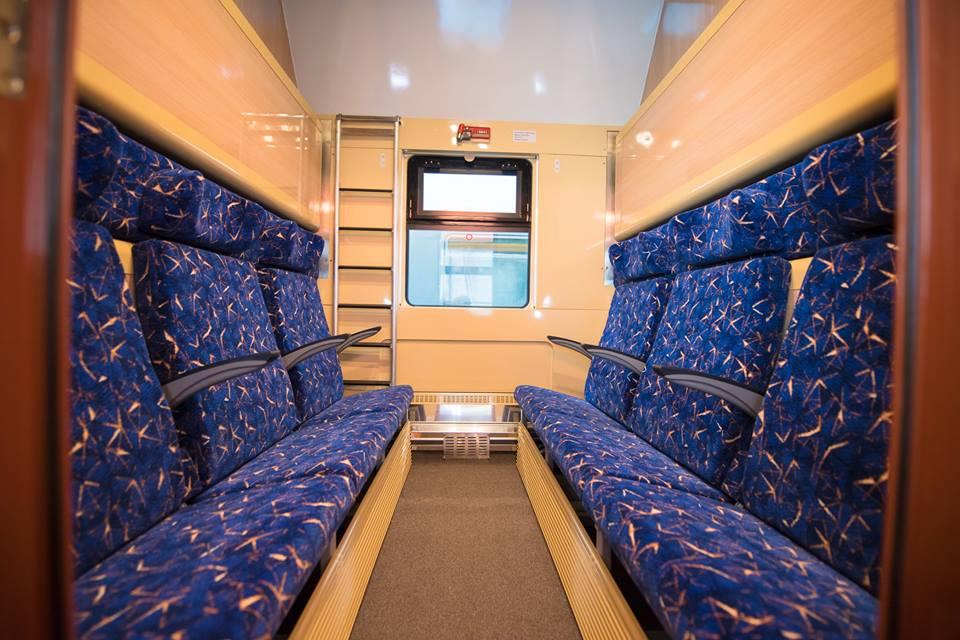 Astra introduce un tren de lux pe linia Bucuresti Arad.