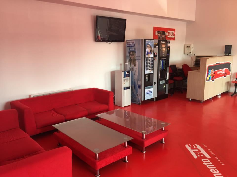Noul Terminal Plecari - Sosiri Memento Bus by Christian Tour