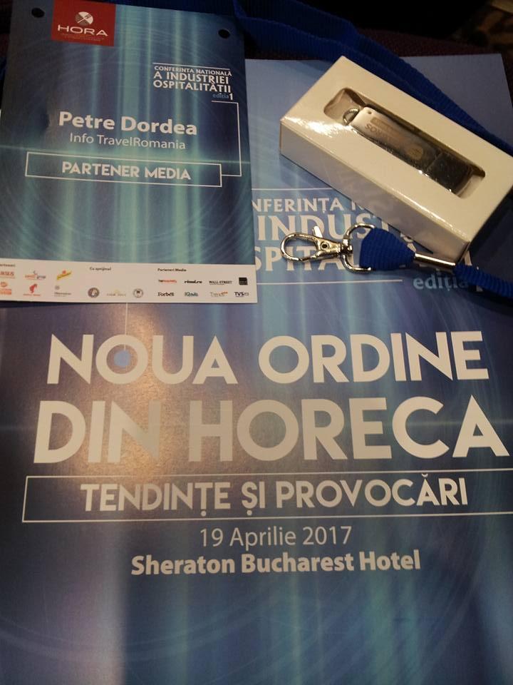 Conferinta Nationala a Industriei Ospitalitatii editia I